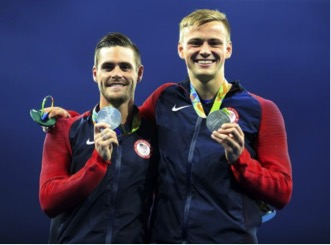 David Boudia and Steele Johnson