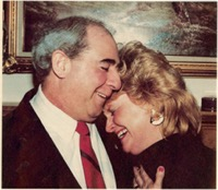 Jerry and Donna De Florio are an                                                                                                                                                                           obviously happy couple now that their role structure has been rearranged by the Lord.