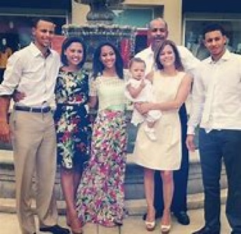 Stephen Curry Family